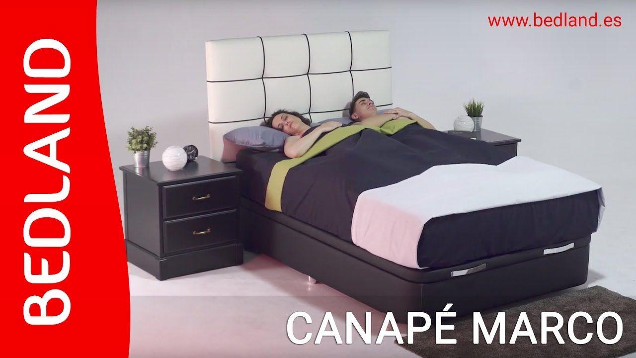 Bedland - Canapé Marco Una base perfecta para #colchones ...