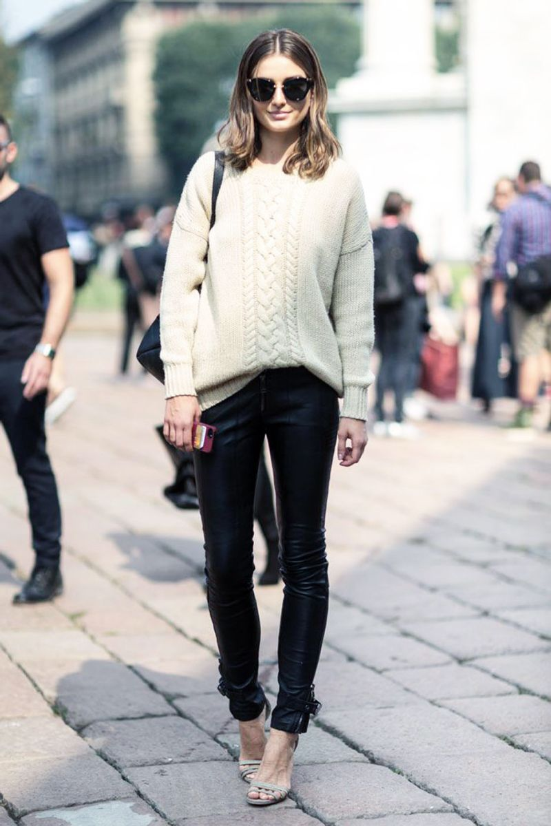 03f42b048b834a Style Inspiration: Chunky Winter Knits | Style | Fashion, Style, How ...