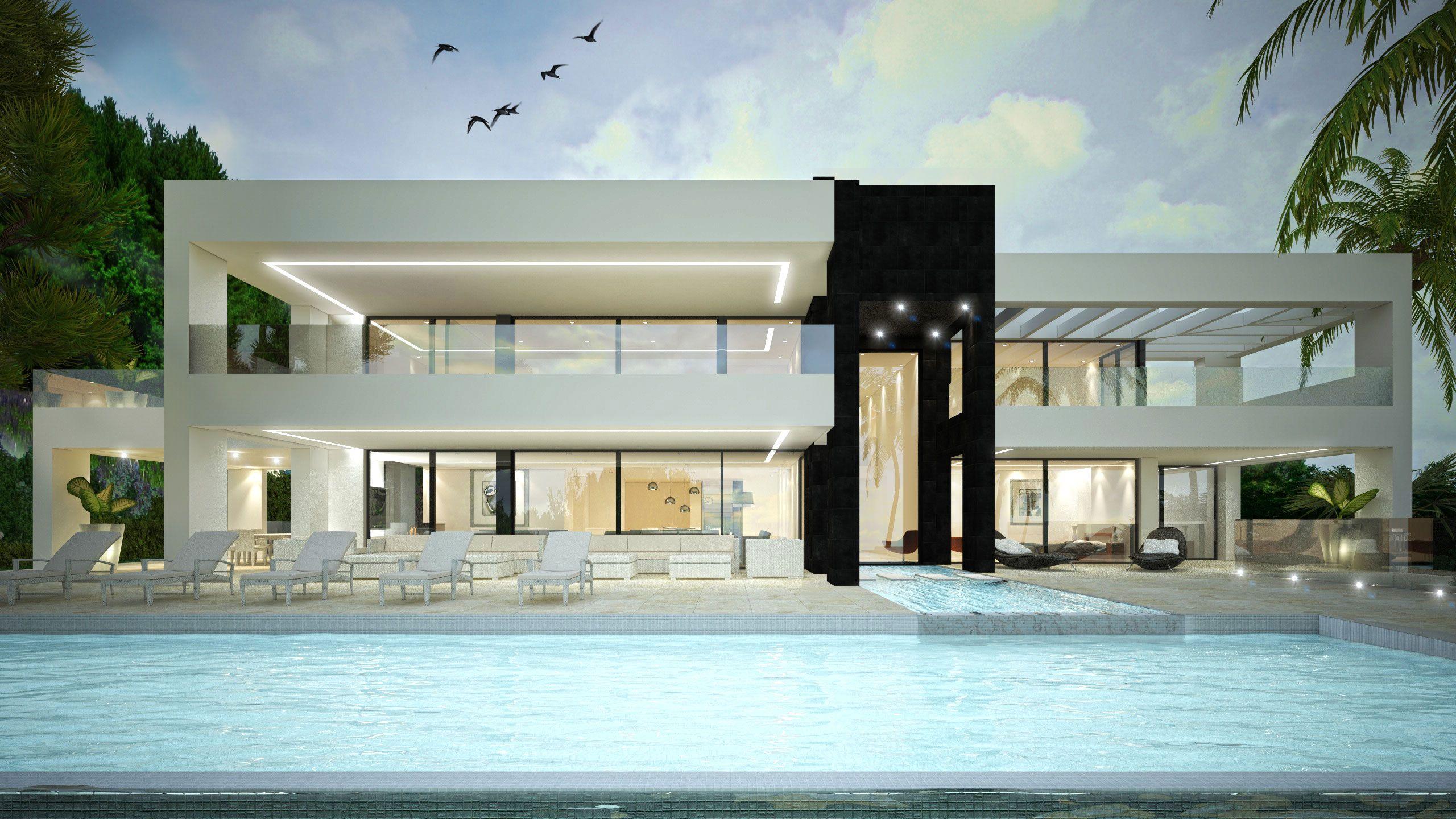 VILLAS MODERNES Maisons contemporaines, immobilier de luxe à vendre ...