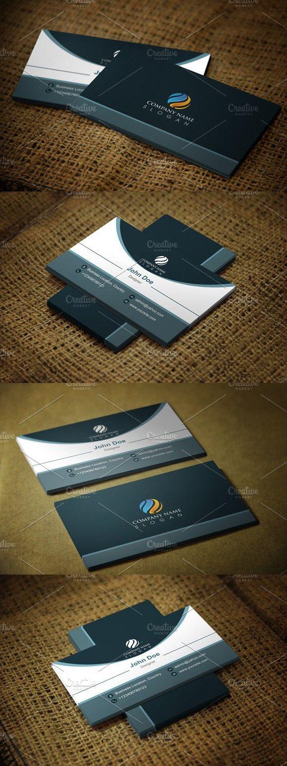 Ultramodern Business Card Template Business Card Template