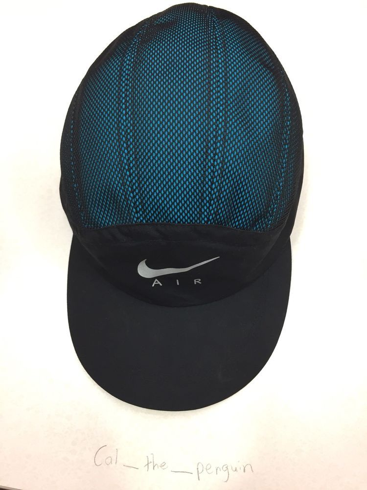 e531165e187 SUPREME NIKE TRAIL RUNNING HAT BLUE ONE SIZE FIT REAL  fashion  clothing   shoes