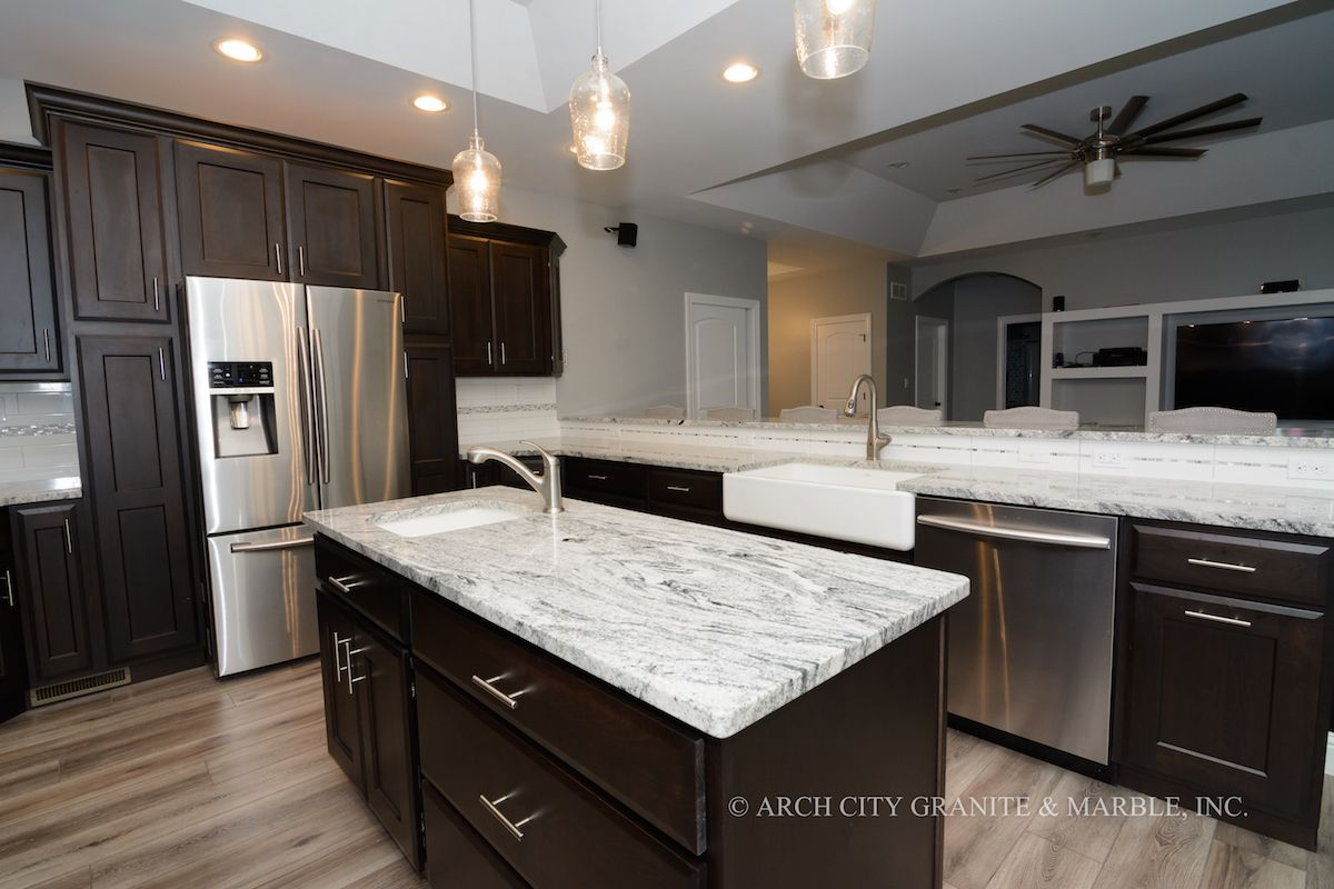 Granite Countertop Gallery In St Louis Mo Arch City Granite Cost Of Granite Countertops Granite Countertops White Granite Countertops