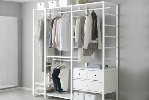 You combine elvarli products to create a completely personalized storage solution that fits your space perfectly
