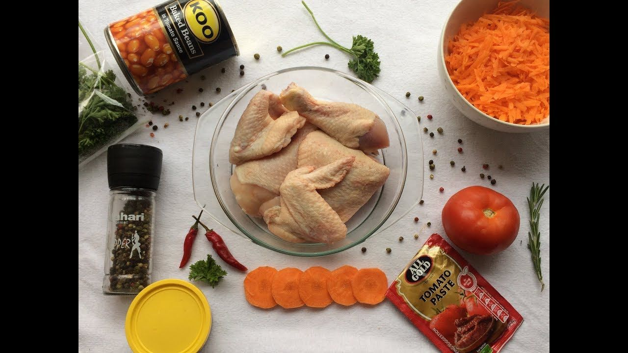 Chakalaka Chicken Recipe   South African Youtuber
