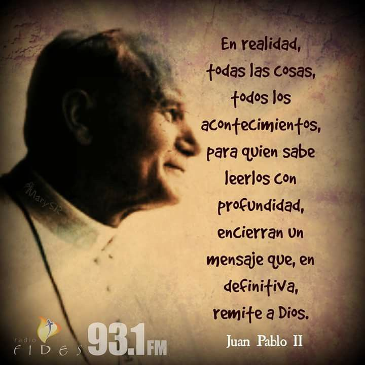 Mensaje De San Juan Pablo Ii San Juan Faith Francisco