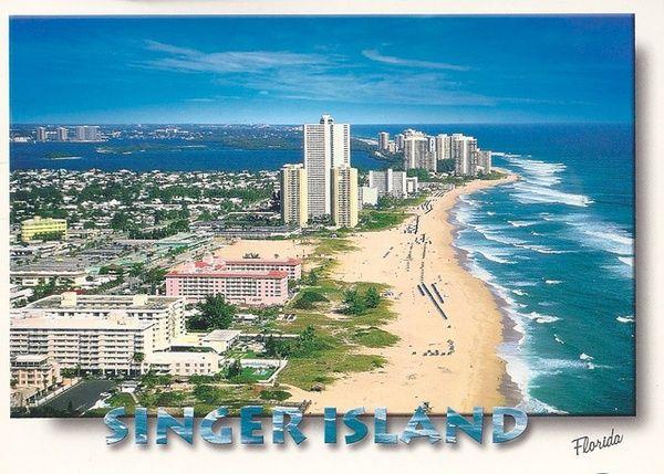Singer Island, Florida.