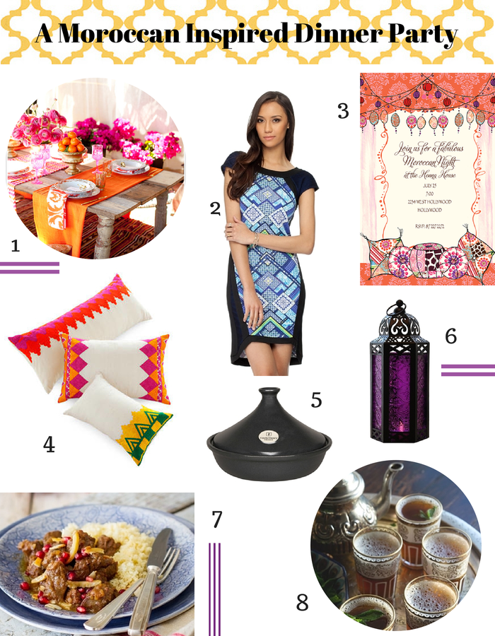 Beautiful Moroccan Dinner Party Menu Ideas Part - 8: How To Throw A Fabulous Moroccan Themed Dinner Party At Home, (complete  With Recipes