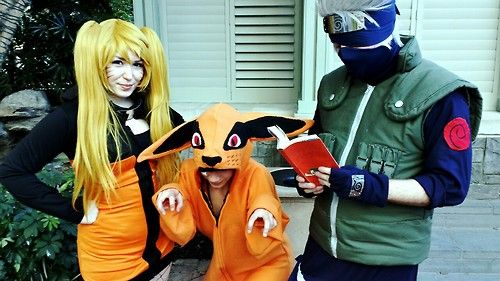 Naruto Sasuke And Kurama Cosplay From Katsucon 2014