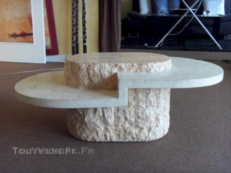 Table Basse Imitation Marbre Et Pierre Couleurs Abba Heaven