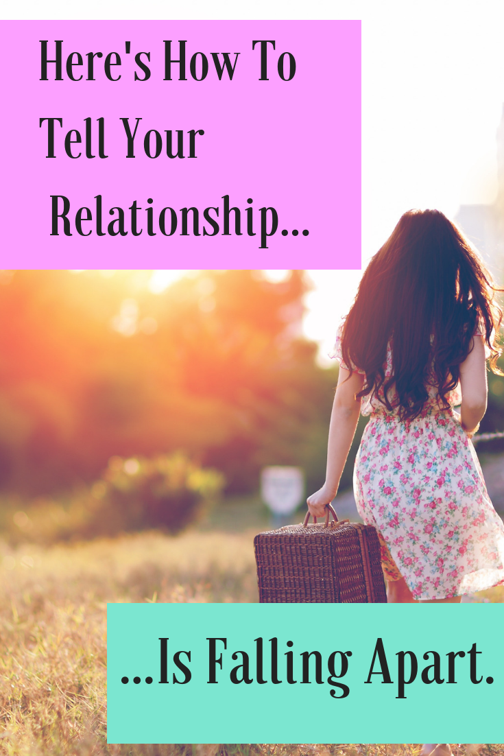 Signs Your Relationship Is Falling Apart Creativity Blogs With