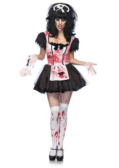 french maid make-up ideas | Maid Halloween Costumes | halloween ...