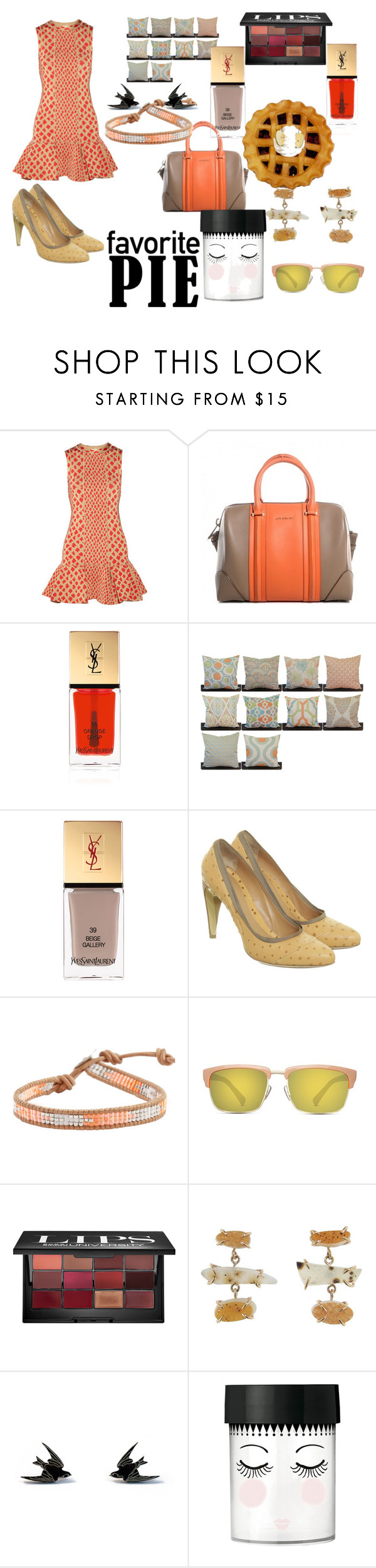 """""""Untitled #1125"""" by cecjones ❤ liked on Polyvore featuring Issa, Givenchy, Yves Saint Laurent, BOSS Orange, Chan Luu, GlassesUSA, Bobbi Brown Cosmetics, Wolf & Moon, women's clothing and women's fashion"""