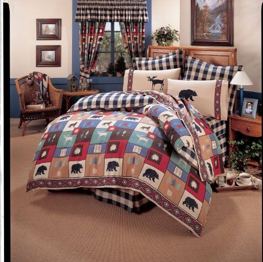 True Grit The Woods 8 Pc Queen Comforter Set And Matching