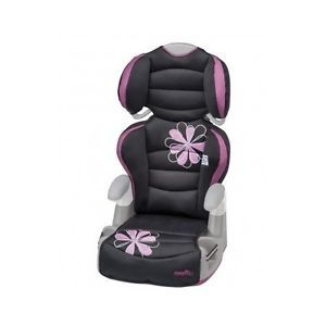 This Booster Car Seat gets your child excited about sitting in a booster seat! With 6 height positions, the back adjusts as your child grows, keeping the side and head support in the proper position. It also transitions into a no-back booster. Your child will love the comfortable padding around the head and body. Elastic cup holders are perfect for a juice box or a quick snack