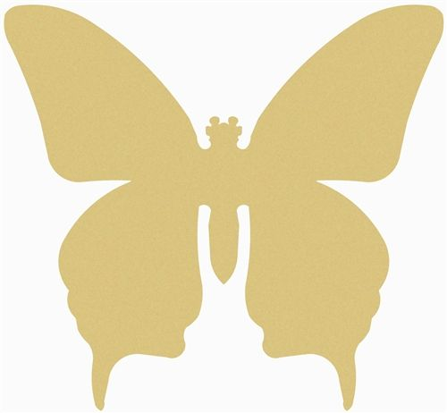 Butterfly Unfinished Cutout, Wooden Shape, Paintable MDF DIY Craft ...