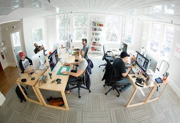 Natural Light Workspaces Office Inspiration Workspaces Modern Office Space Cool Office