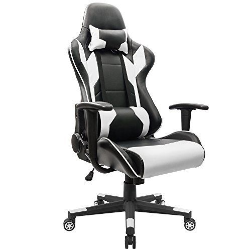 Homall Executive Swivel Leather Gaming Chair Racing Style High