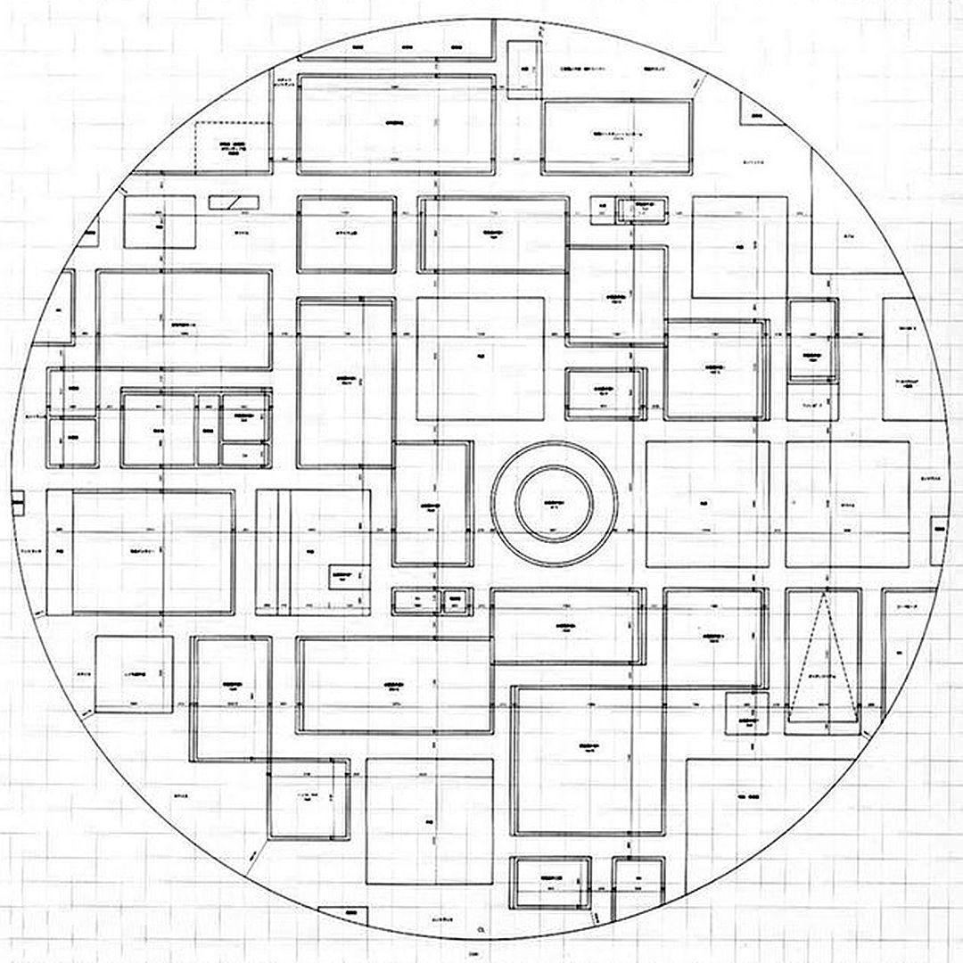 Plan Of Sanaa S 21st Century Museum Of Contemporary Art In