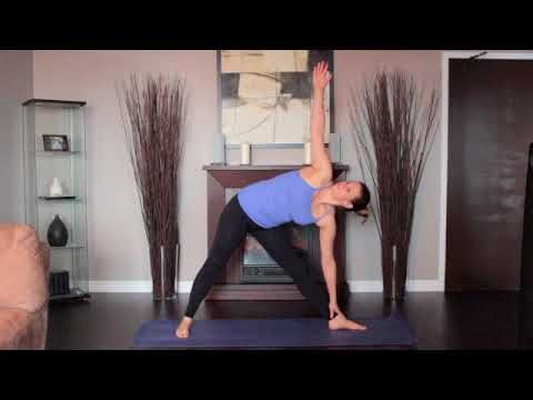 yoga exercises at home for complete beginners25 triangle