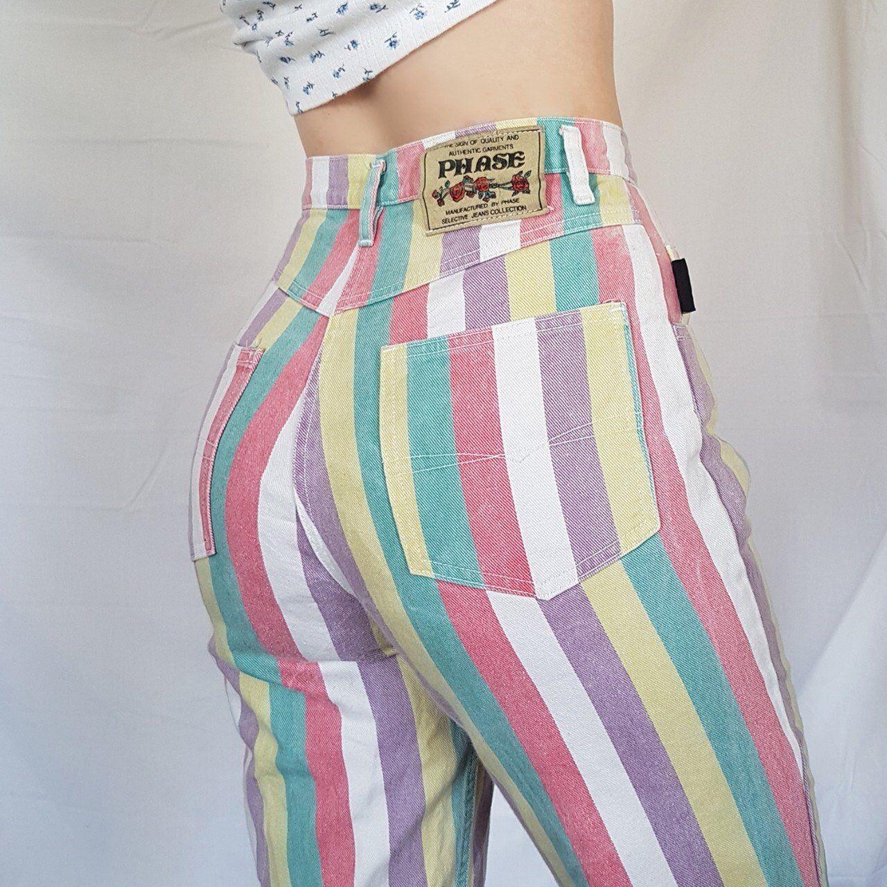 e0d3668dc Listed on Depop by denisesarahxo in 2019   depop   Colored jeans ...