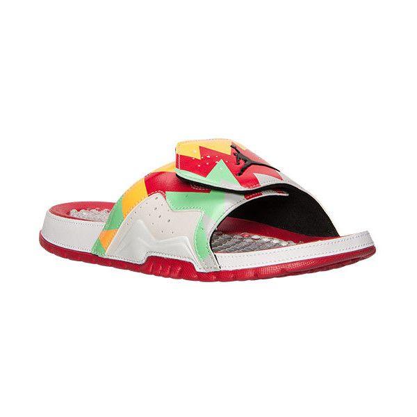 b494e5c1d Men s Jordan Hydro 7 Retro Slide Sandals ( 40) ❤ liked on Polyvore  featuring mens