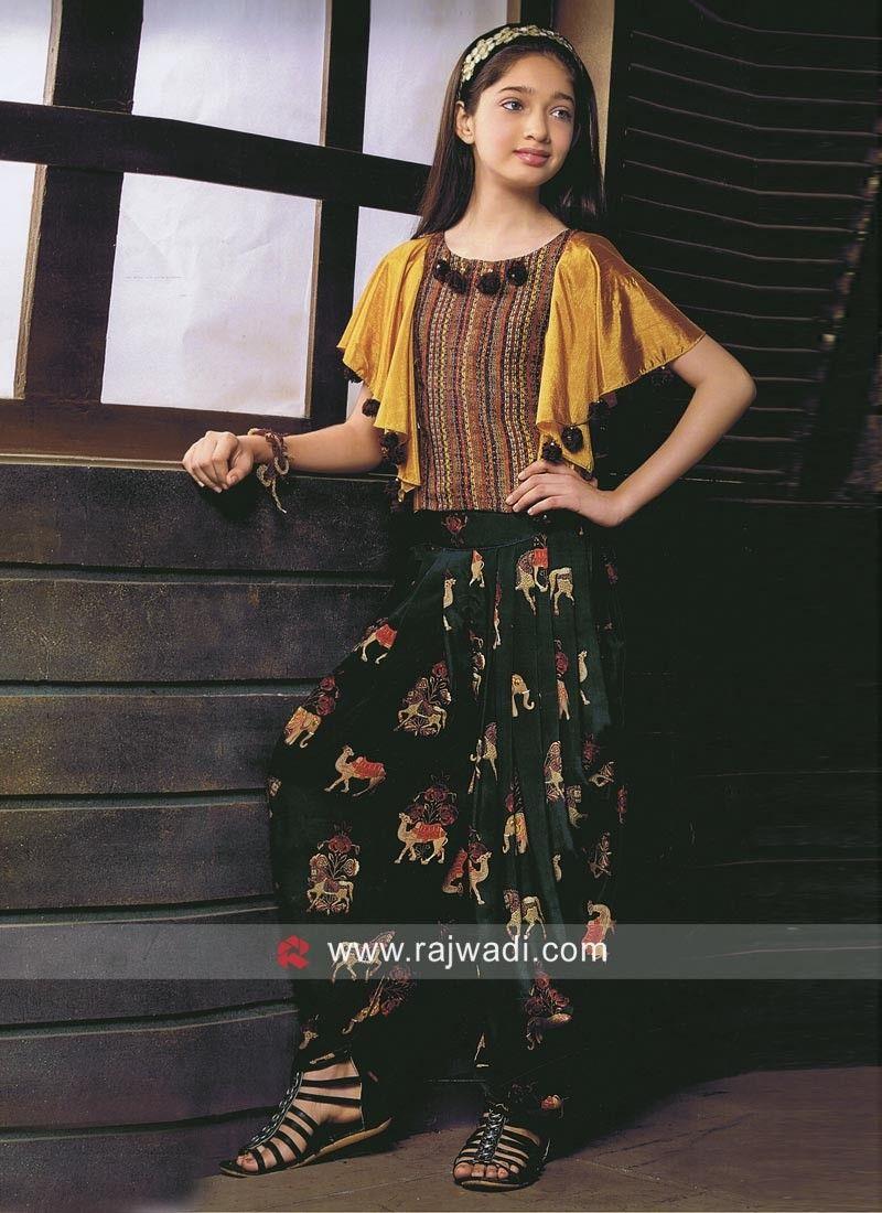 stylish fancy modern dress for girls