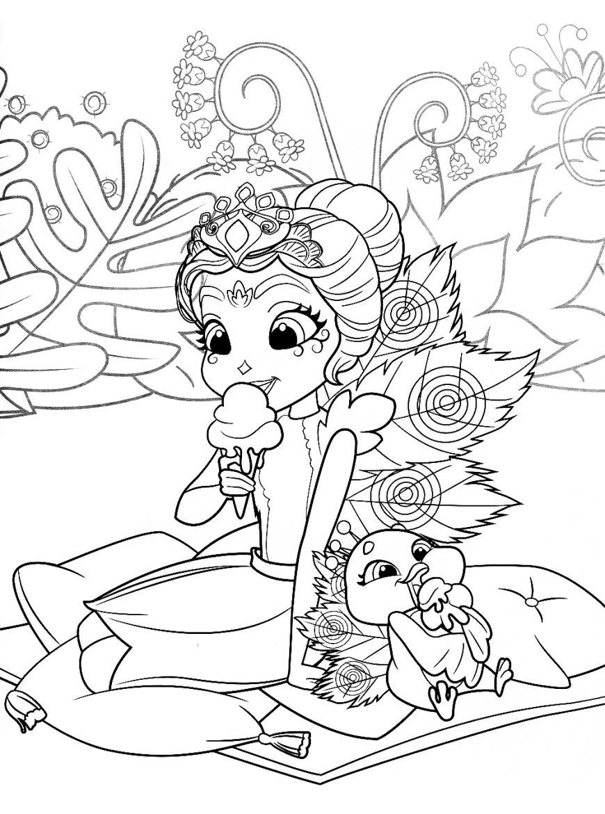 Enchantimals New Free Printable Coloring Pages Poppy Coloring Page Cute Coloring Pages Cartoon Coloring Pages