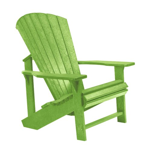 Sol 72 Outdoor Lomba Lounge Chair Recycled Plastic Adirondack