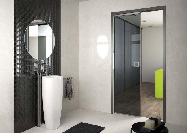 Modèle Sogalslide® Panoramique®  Porte coulissante Sogal Séparer - porte coulissante sur mesure prix