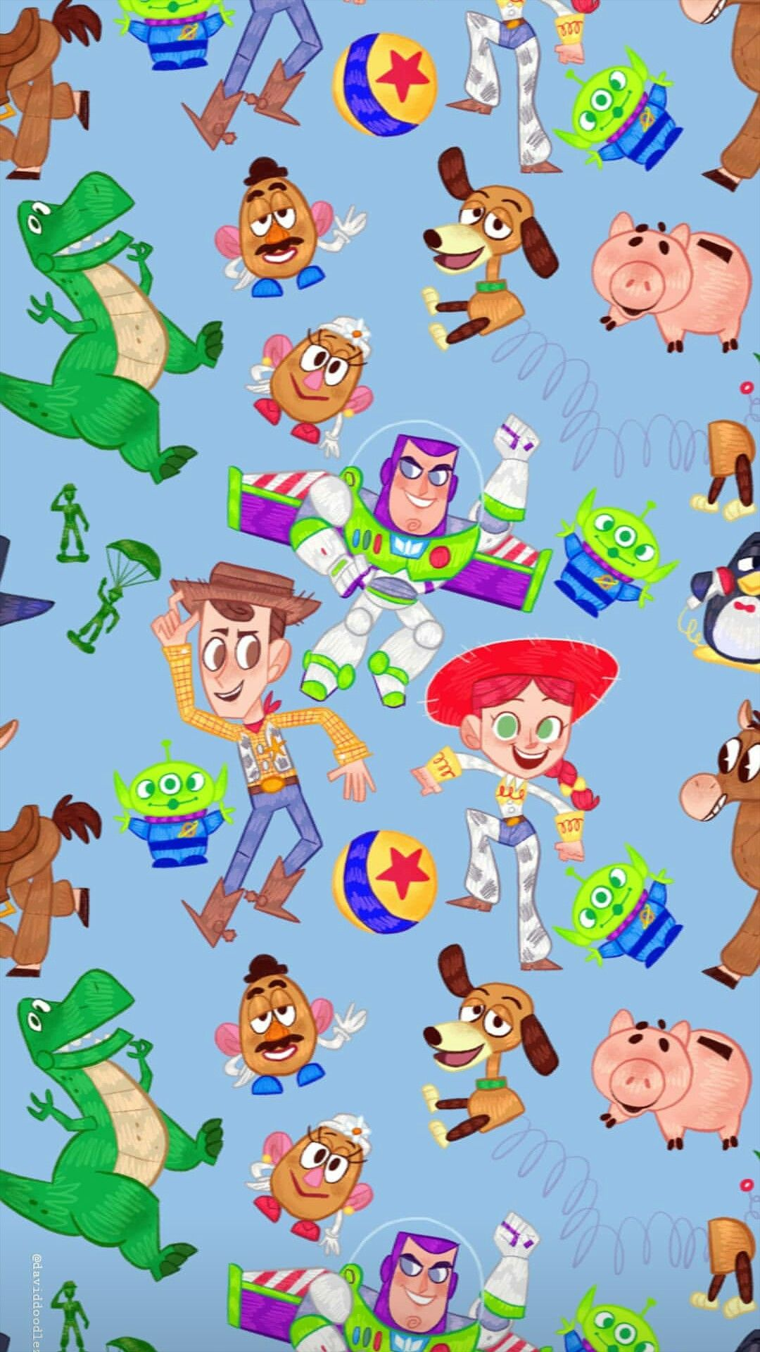 Daviddoodlez Disney Wallpaper Toy Story Party Disney Love