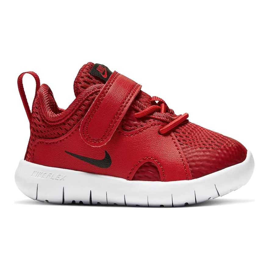 Nike Flex Contact 3 Toddler Sneakers Infant Boy S Size 8 T Dark Red Red Toddler Shoes Nike Flex Toddler Nike Shoes