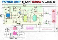3000 Watts Power Amplifier Class D Mosfet IRFP260 / IRFP4227 ekkor