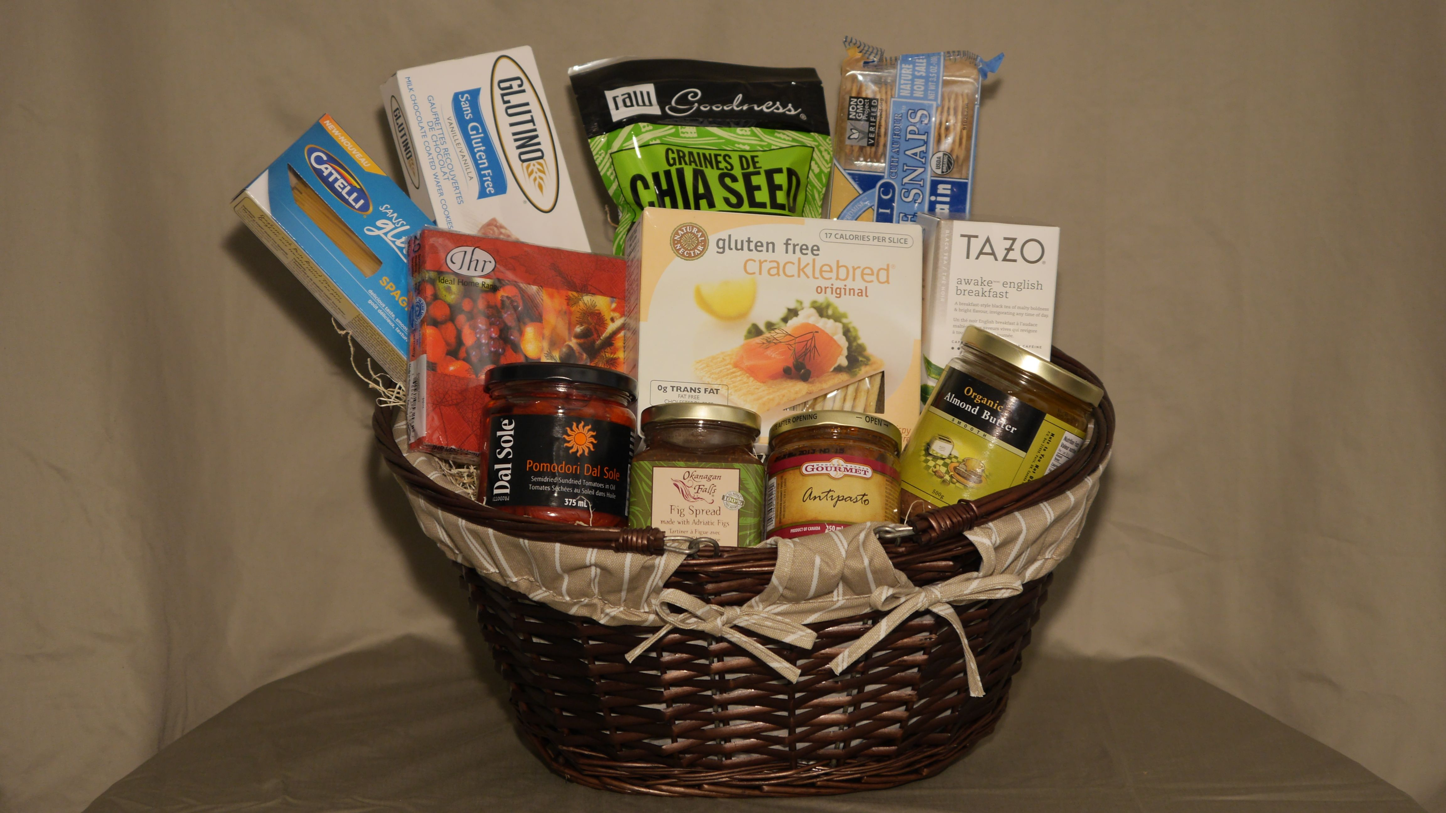 Gluten free gift baskets made by basketcasevancouver gift gluten free gift baskets made by basketcasevancouver negle Image collections