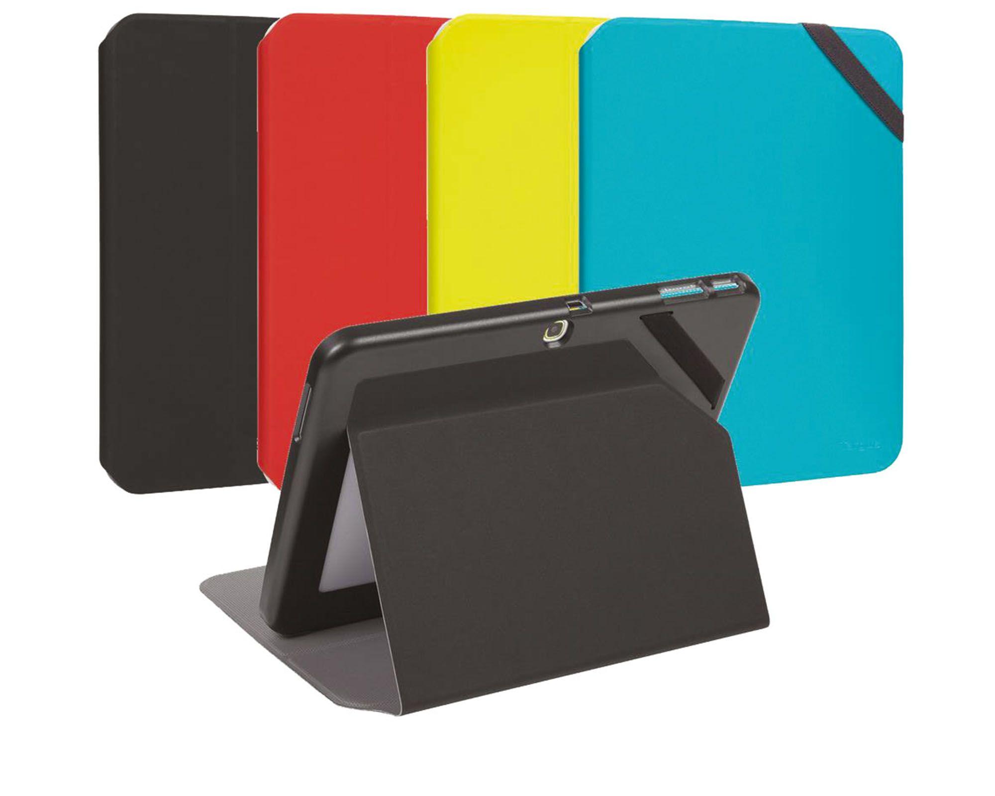 [CATALOGUE GENERAL 2015] Evervu. Etui ultra léger pour protéger votre tablette (Samsung Galaxy Tab 4 et iPad). TAB4 10,1'' | REF. THZ452EU - NOIR | REF. THZ45202EU - BLEU | REF. THZ45203EU - ROUGE | REF. THZ45205EU - JAUNE | TAB 4 8'' | REF. THZ449EU - NOIR | REF. THZ44902EU - BLEU | TAB 4 7'' | REF. THZ445EU - NOIR | REF. THZ44502EU - BLEU | RÉF. THZ44503EU - ROUGE | RÉF. THZ44505EU - JAUNE http://www.exertisbanquemagnetique.fr/info-marque/targus  #Targus #Etui #Galaxy