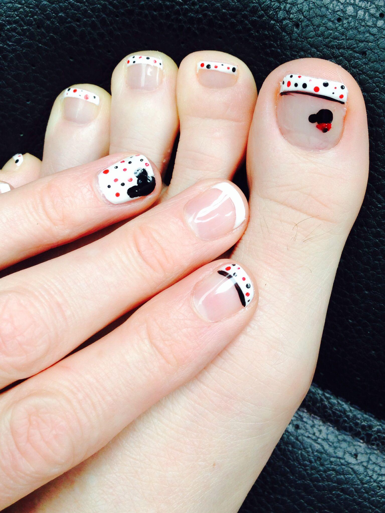 Disney Nails! - Uñas | Pinterest - Nagel, Teennagels en Kleuren