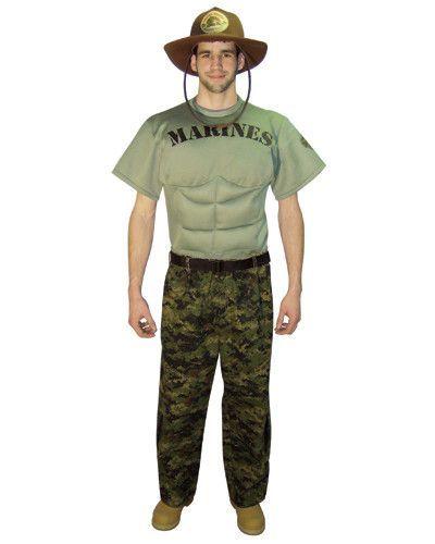 Marines Uniform Adult Costume