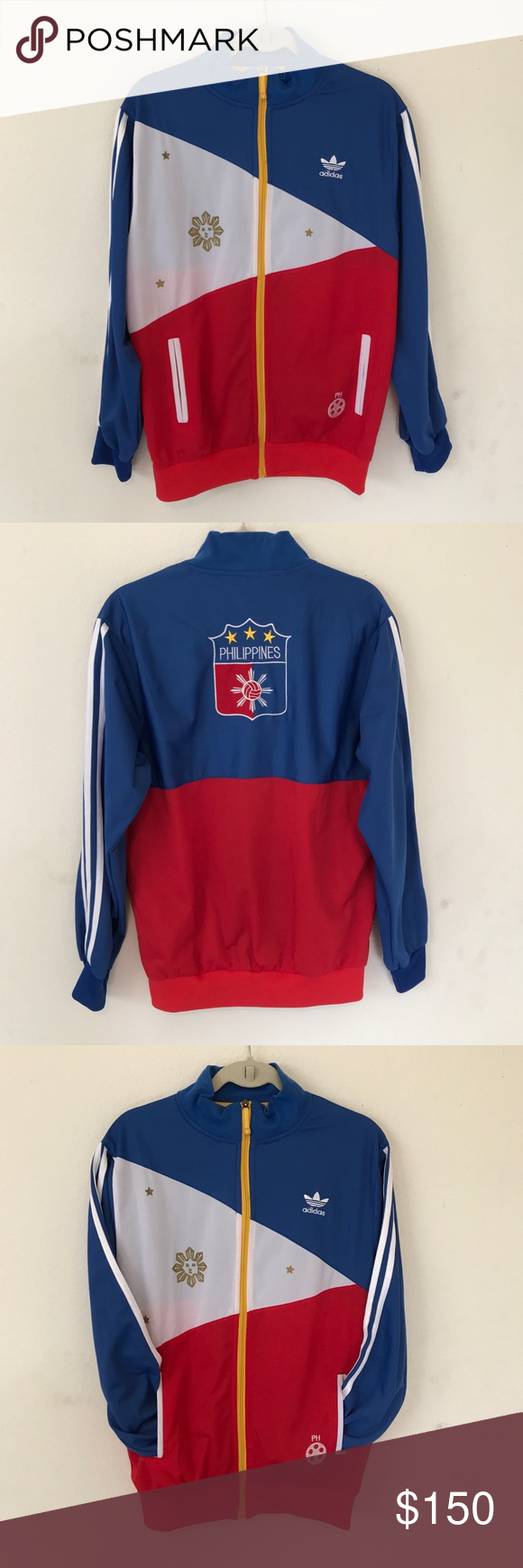 Adidas Manny Pacquiao Pacman Track Jacket XL Pinterest adidas