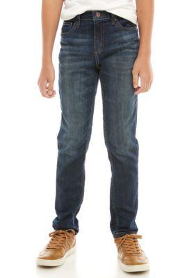 Jeans Tapered Fit in Denim Stretch