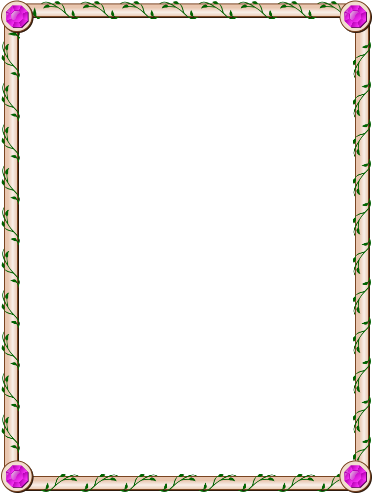 Simple Border for pages | Border Designs | Pinterest | Recipes