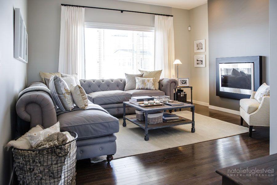 "Restoration Hardware Kensington Sectional ""Farm Fresh Interior by Calgary Interior Designer"""