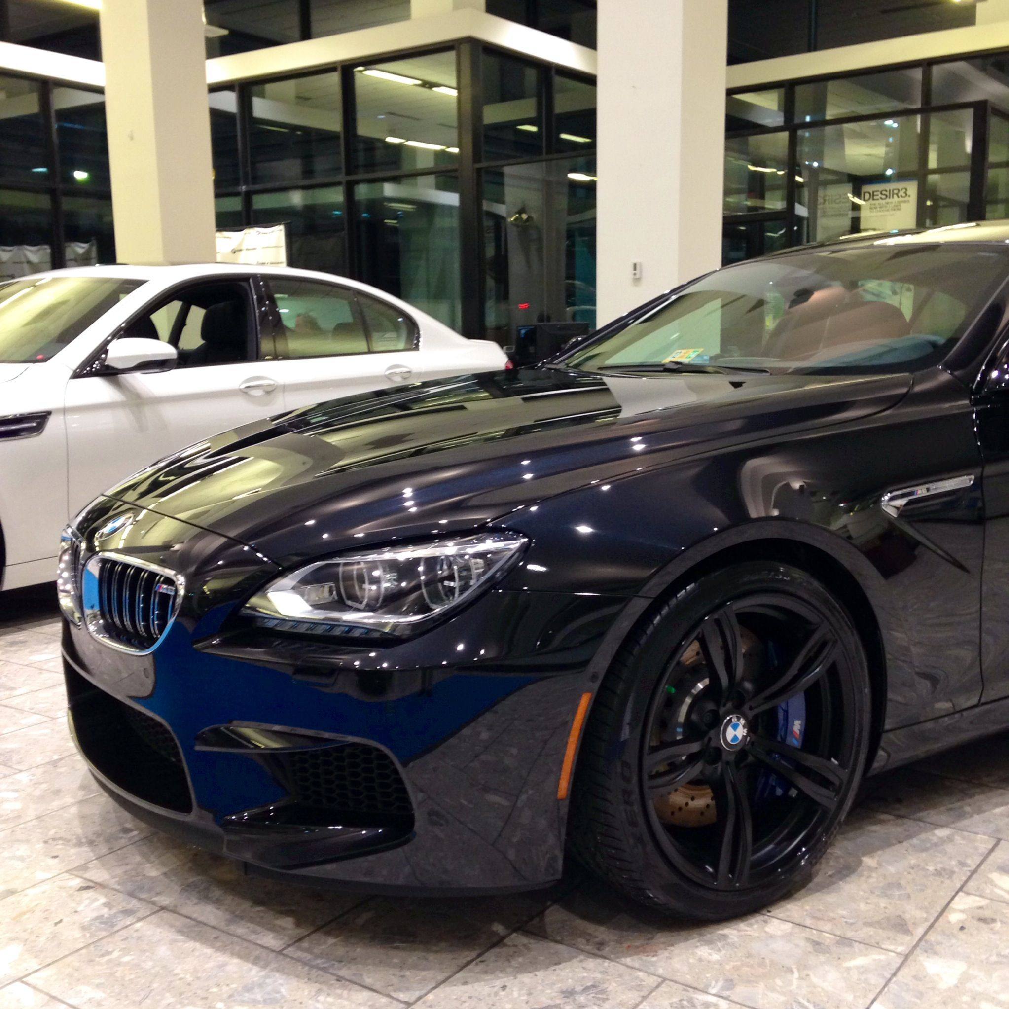 """2014 M6 with 20""""M light alloy Double Spoke wheels style"""