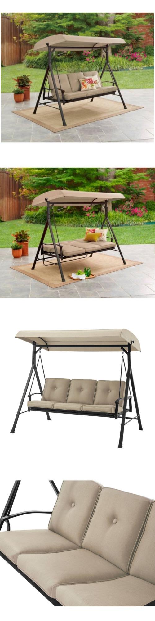 Swings porch swing canopy outdoor furniture seats hammock