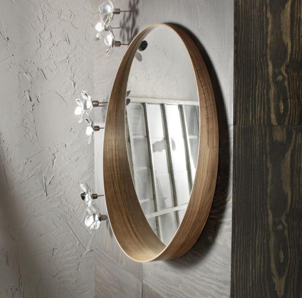 Stockholm Mirror Walnut Veneer 31 1 2
