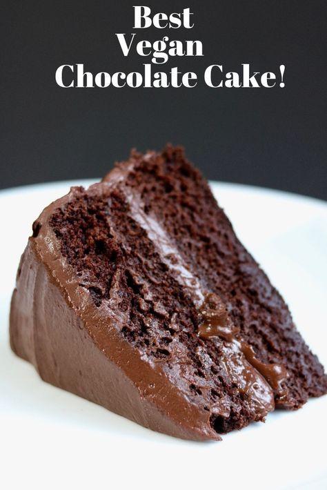 The Best Vegan Chocolate Cake Recipe! (Easy) - The