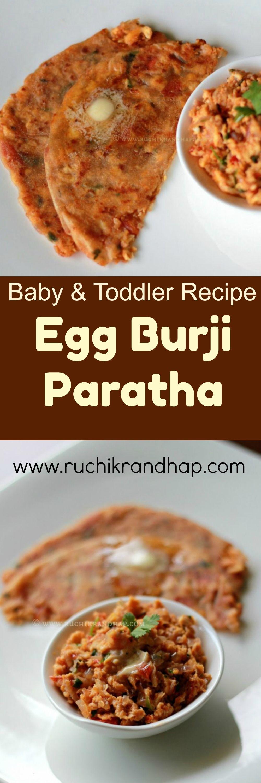 Homemade Baby Food - Egg Burji Paratha | Recipe | Baby ...