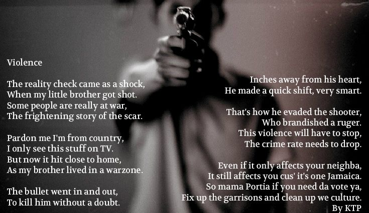 Poems About Violence 7