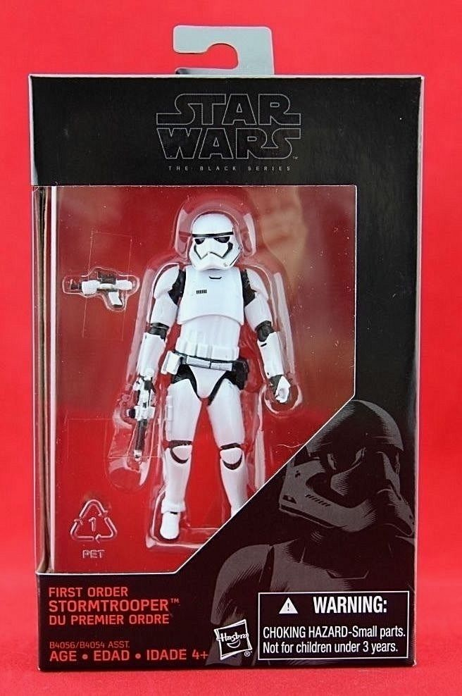 "First Order Stormtrooper Star Wars Black Series Hasbro Exclusive 3.75"" Figure  #Hasbro"