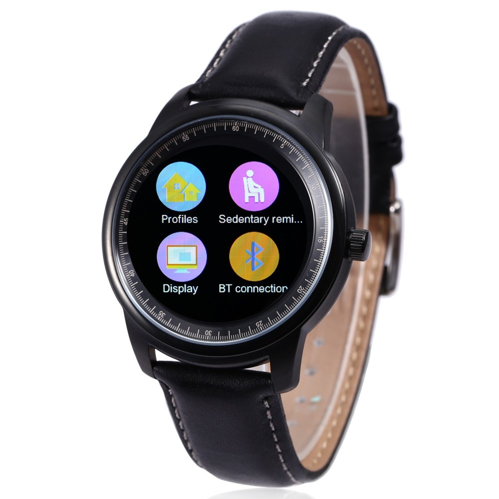 104.79$  Buy now - http://aliy3y.worldwells.pw/go.php?t=32704508023 - DM365 Smart Watch for Android 4.3 / IOS 7.0 Bluetooth 4.0 Anti-lost Calls Function Pedometer Call Reminder Sleep Monitor