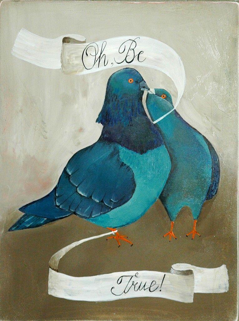 Artist feature lisa congdon illustration art blue bird