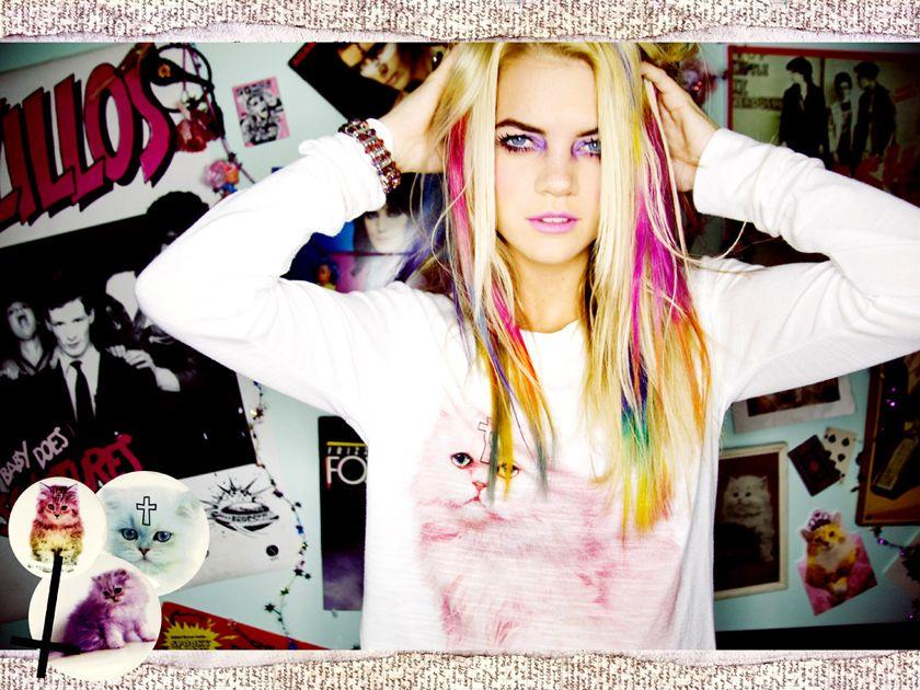 Dip dye hair, Hair, Hair beauty